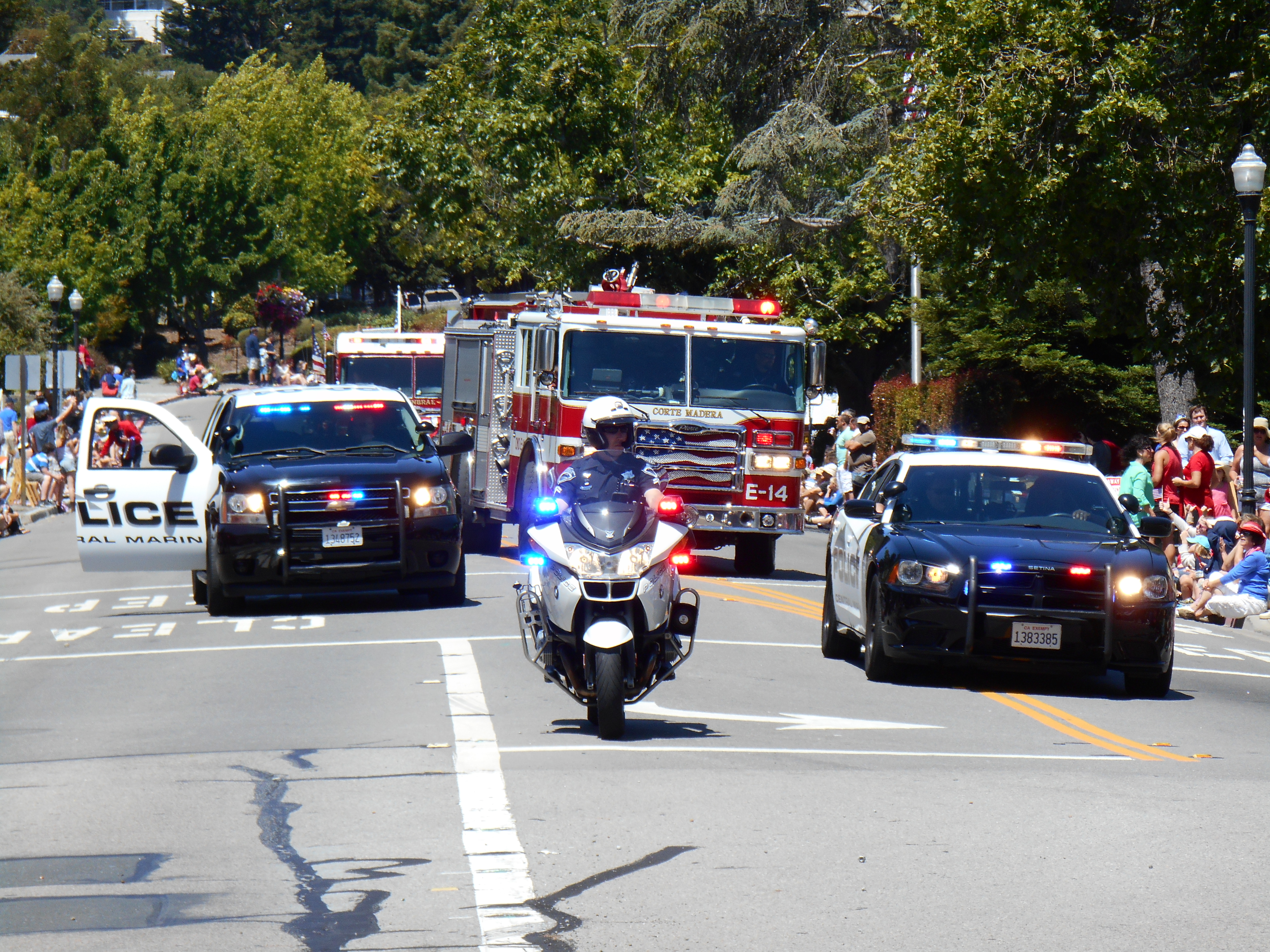 Corte Madera and Larkspur 4th of July Parade